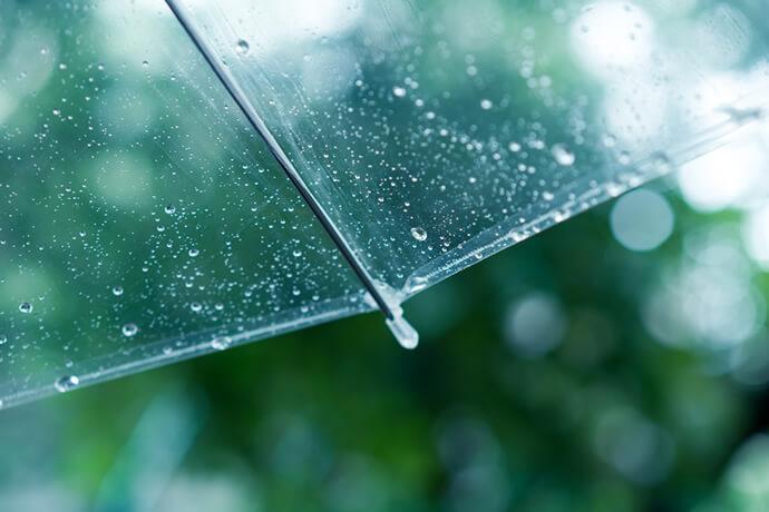 雨の日に安心して使える晴雨兼用日傘と使ってはいけない日傘