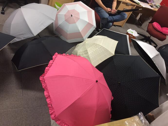 """いろいろな日傘を試しましたが、""""美白を手に入れる日傘に必要な9つの条件""""を満たす日傘はありませんでした"""