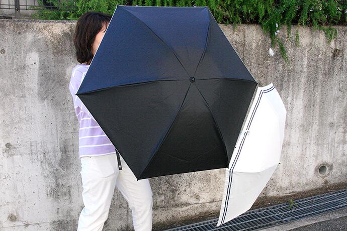 「黒い日傘は暑くなる」それって本当?